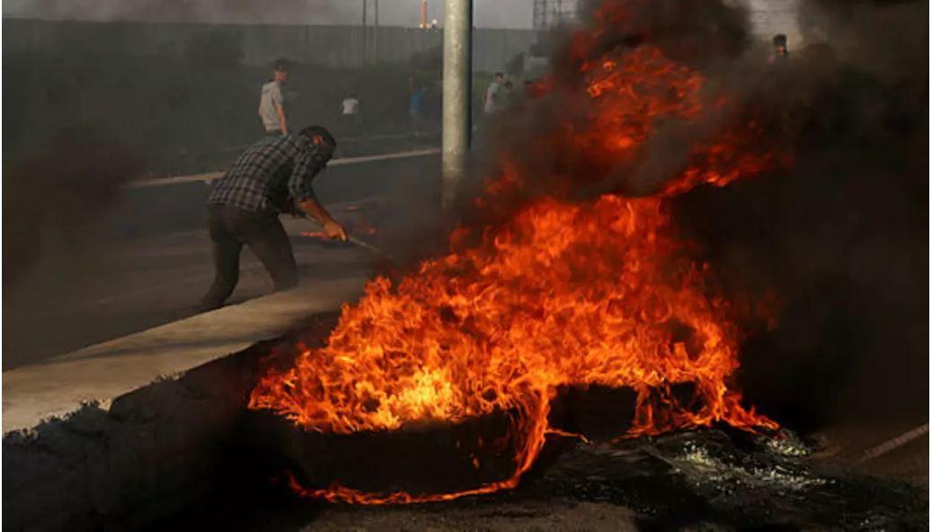 palestinos protestas