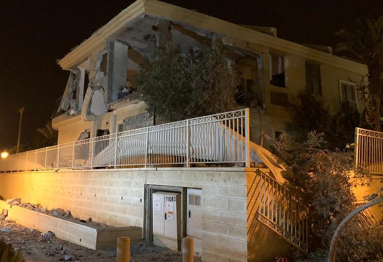 בית נפגע נרקטה