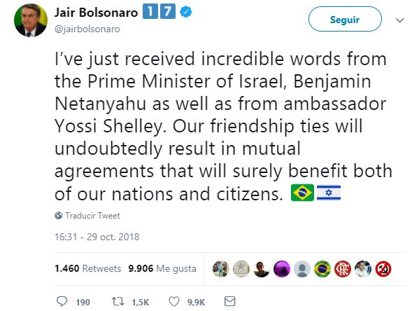 bolsonaro twitt