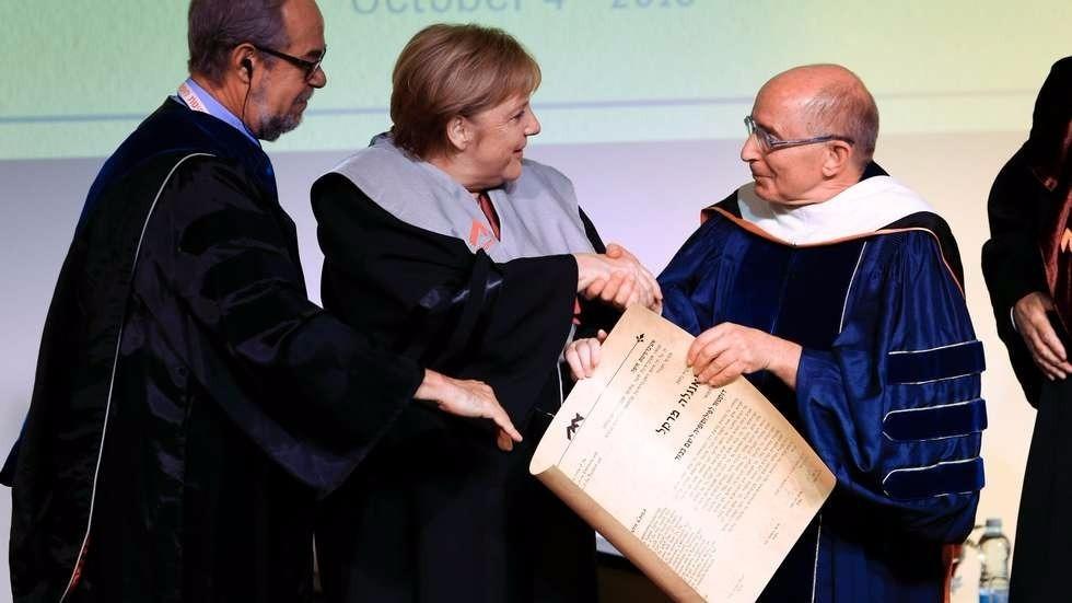 merkel honoris haifa
