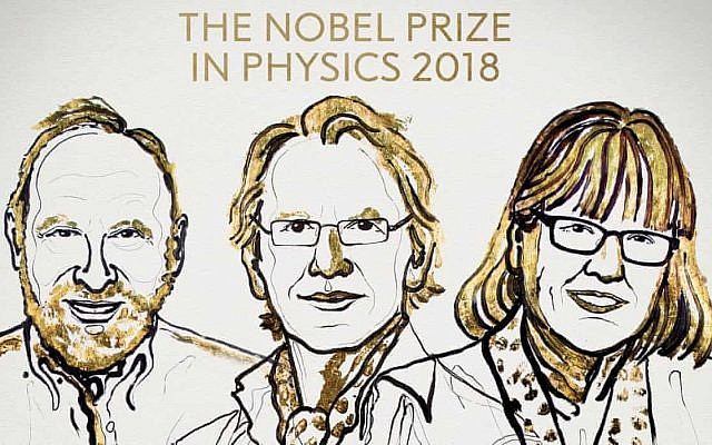 premio nobel fisica 2018