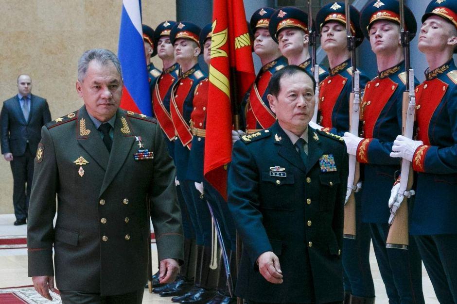 rusia sergei shigou defensa
