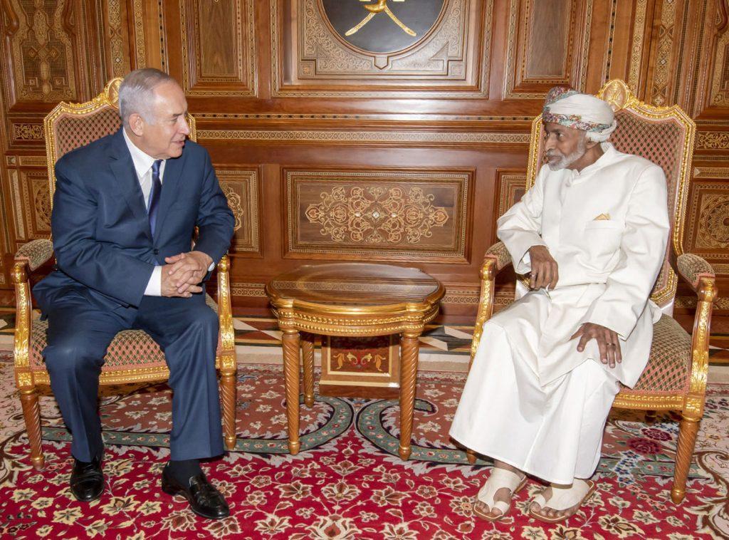 Netanyahu Qaboos