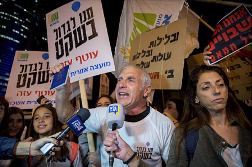 Protestas Otef Aza