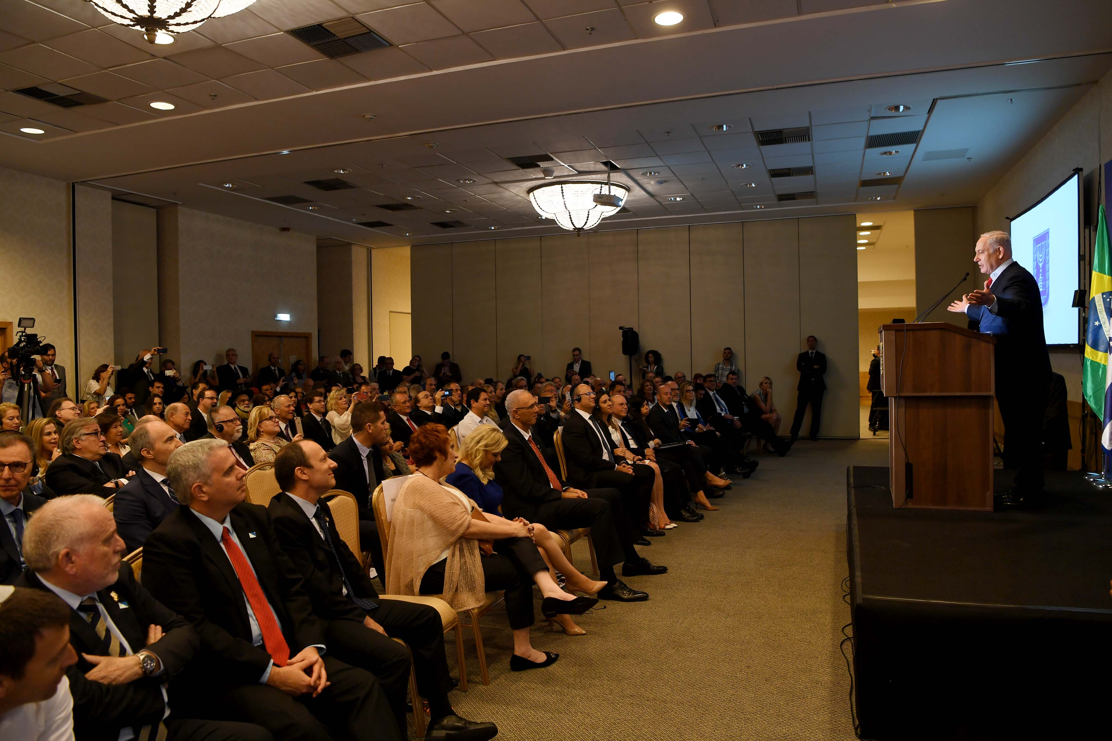PM Netanyahu's Remarks at Event with Brazilian Jewish Community Leaders in Rio de Janeiro