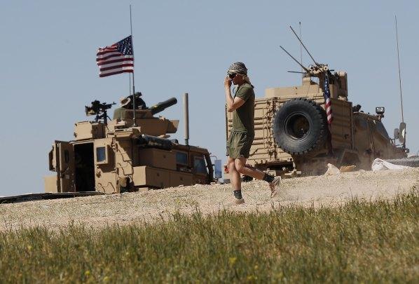 norteamericanos en Siria