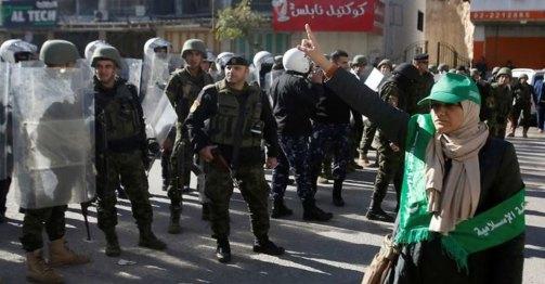 represión palestina en Hebrón