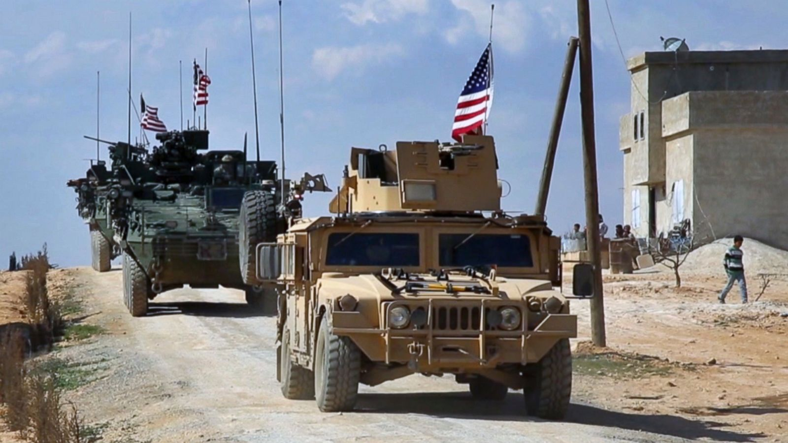 american troops in Syria