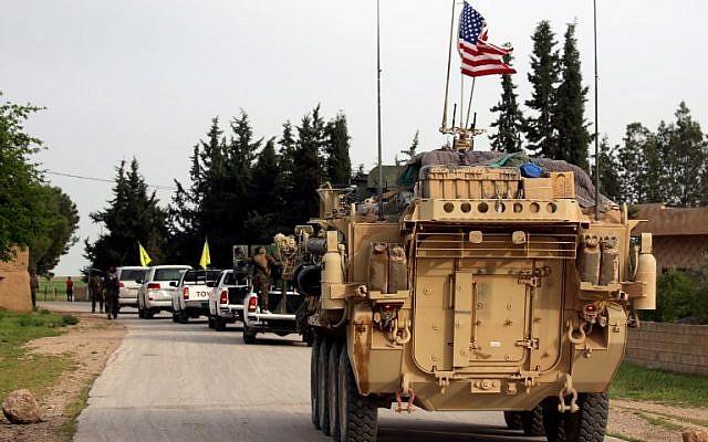tropas norteamericanas en Siria