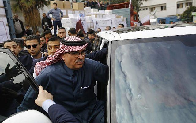 Gaza enviado qataría