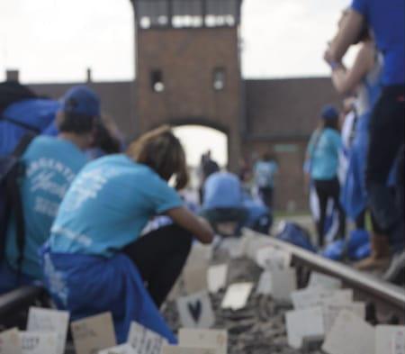 Jóvenes Marcha Auschwitz