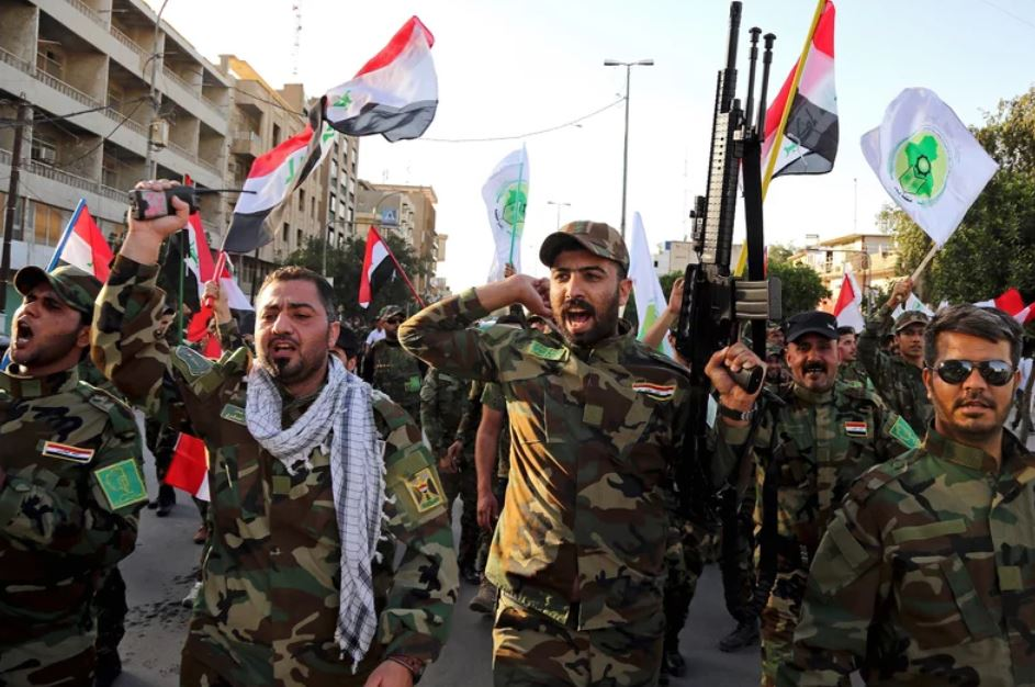 Milicias chiitas en Irak