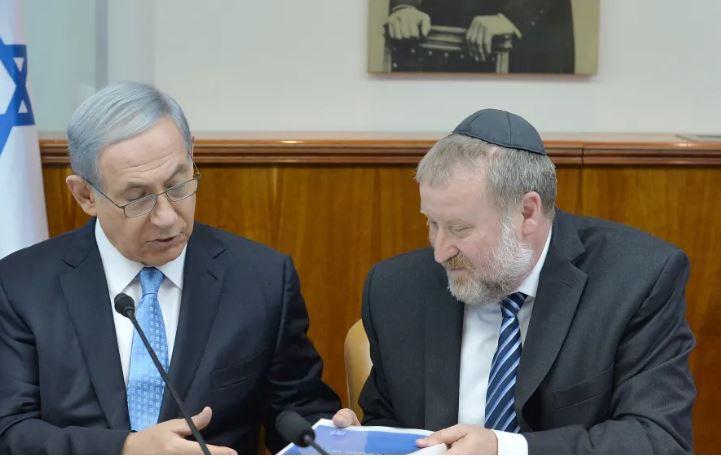 Netanyahu Mandelblit 2