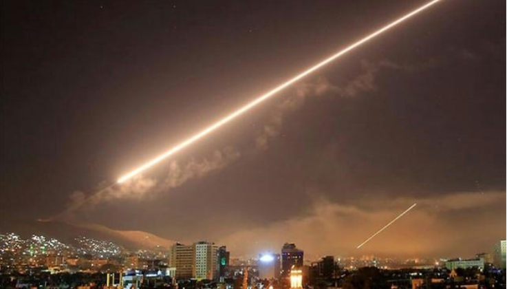 ataque israelí en Siria1