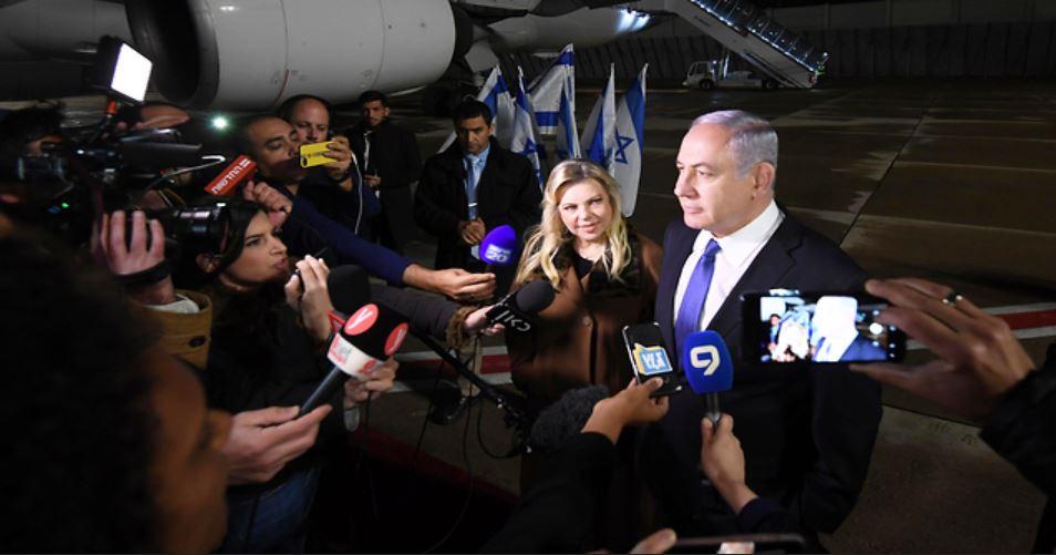 Netanyahu rumbo a Moscú