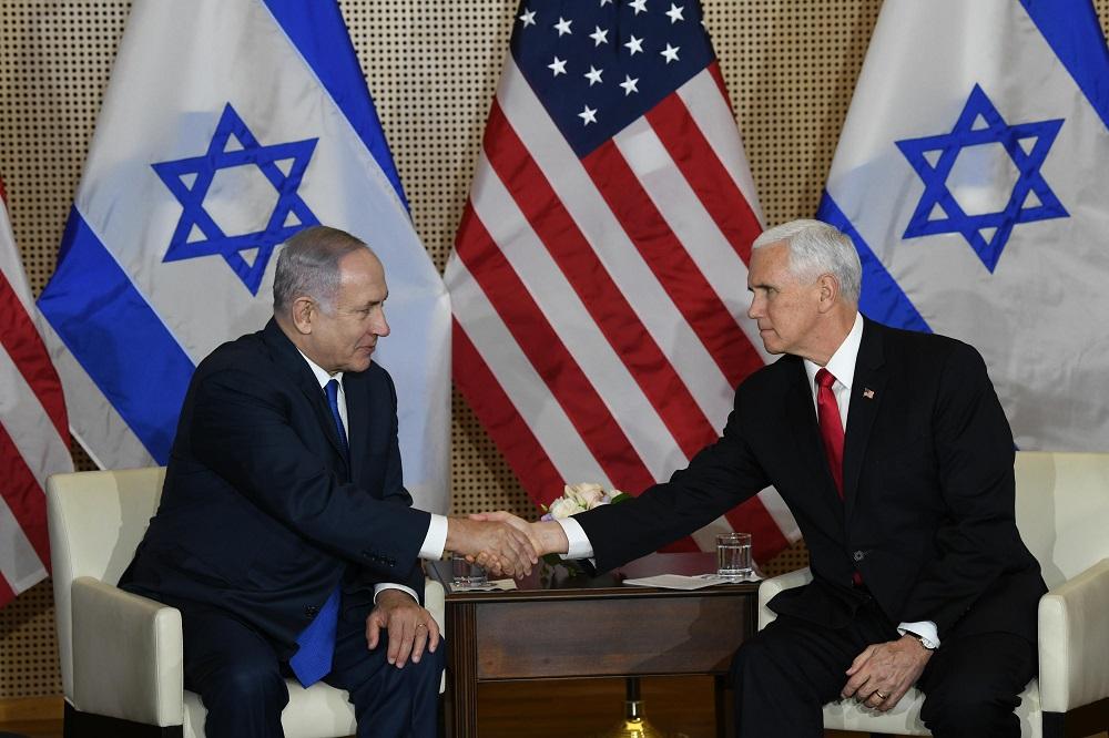 Netanyahu se reunió con el vicepresidente de Estados Unidos en Varsovia