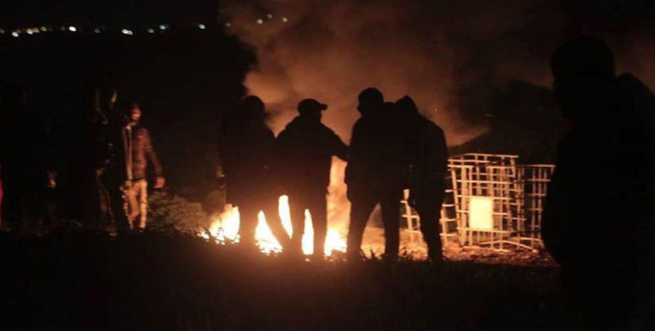 violencia noctura Gaza
