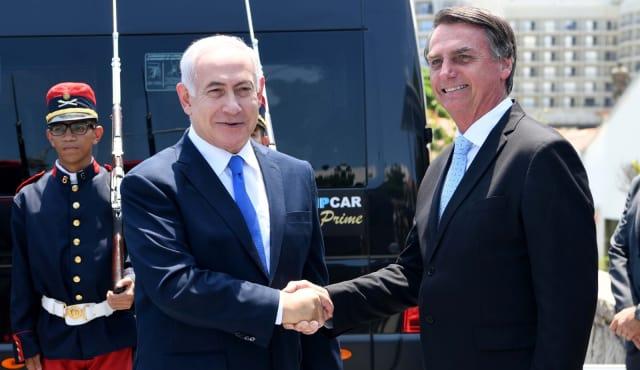 Netanyahu Bolsonaro
