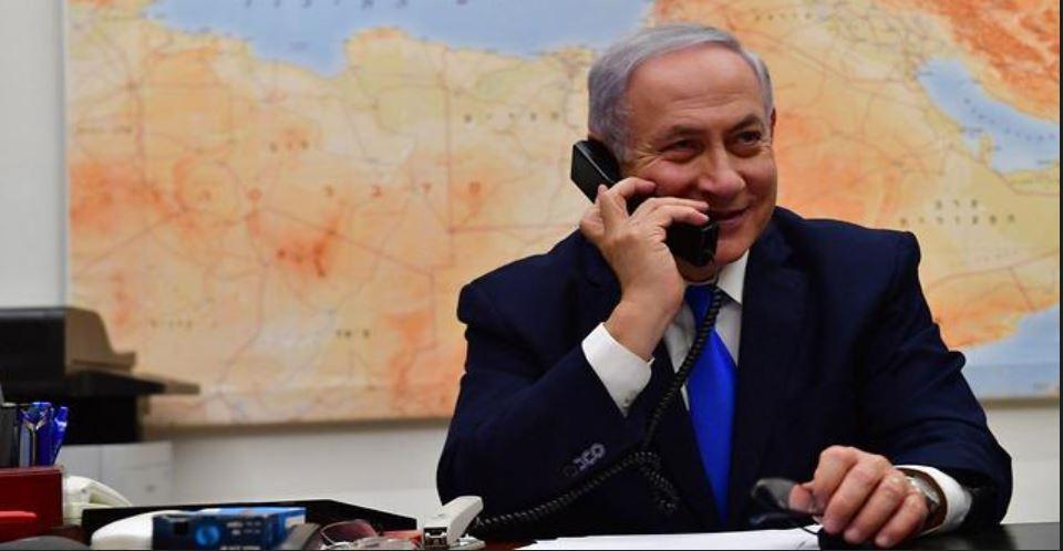 Netanyahu chocho