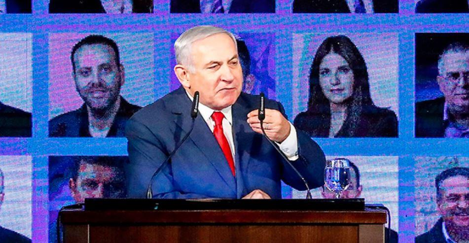 Netanyahu discurso de campaña electoral
