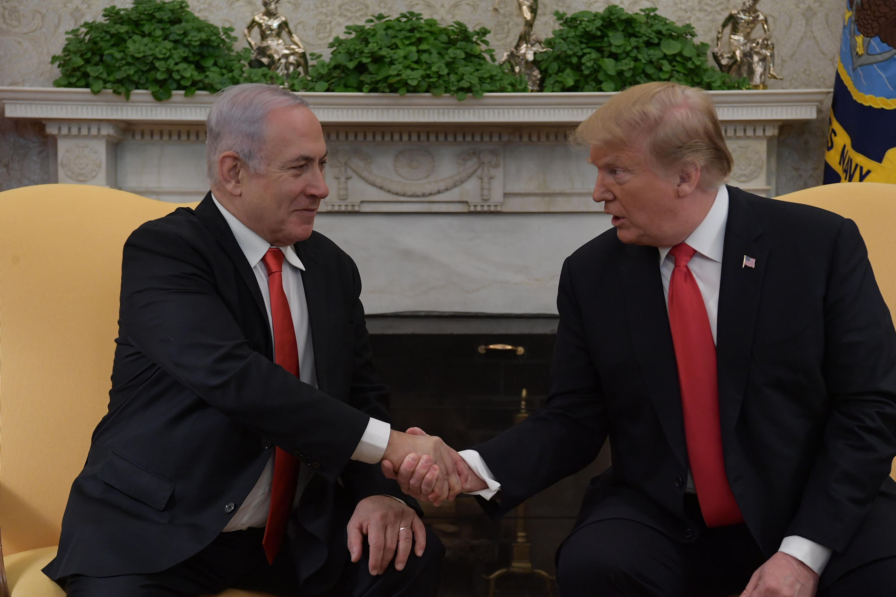 PM Netanyahu and POTUS Trump