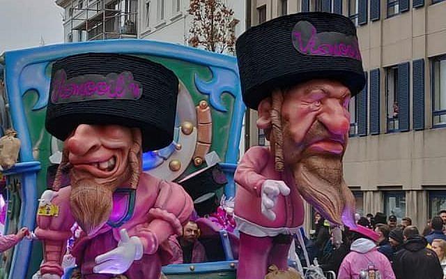 antisemitismo marionetas