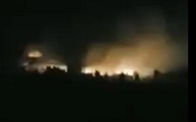 explosiones en Alepo