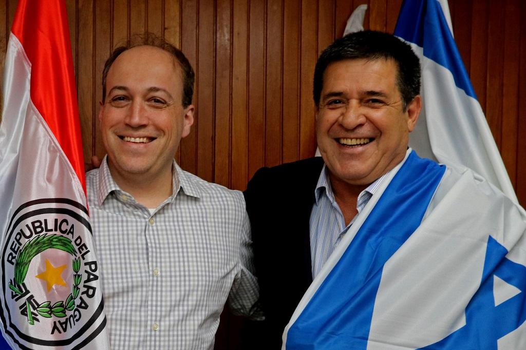 Horacio Cartes y Yaron Daniely