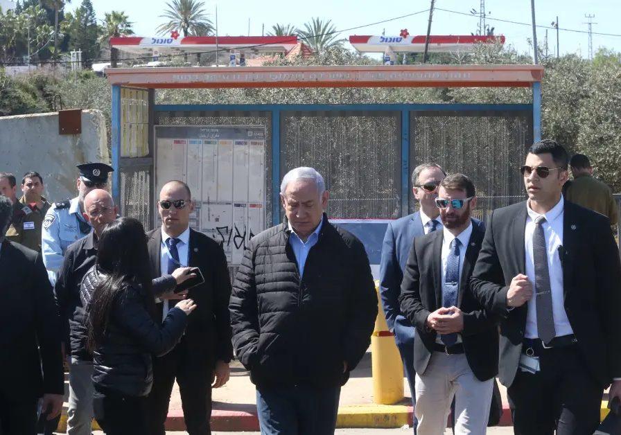 Primer ministro Benjamin Netanyahu