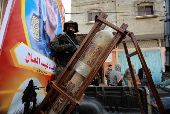 Hamás exhibición militar