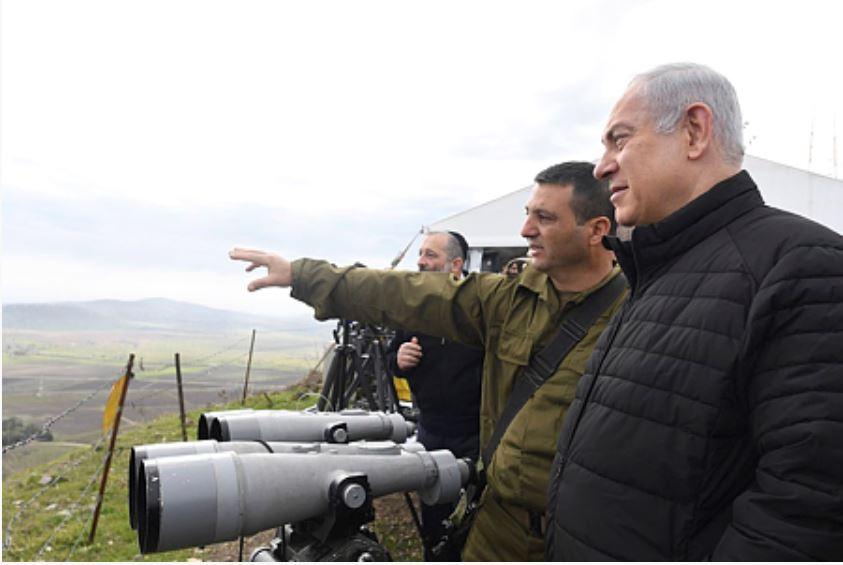 Netanyahu Ramat Hagolan