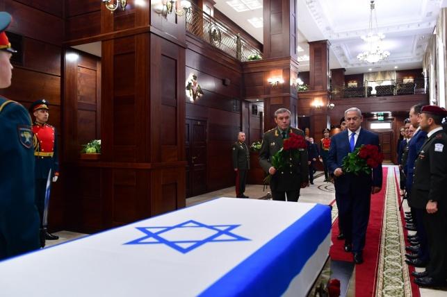 Netanyahu en Rusia