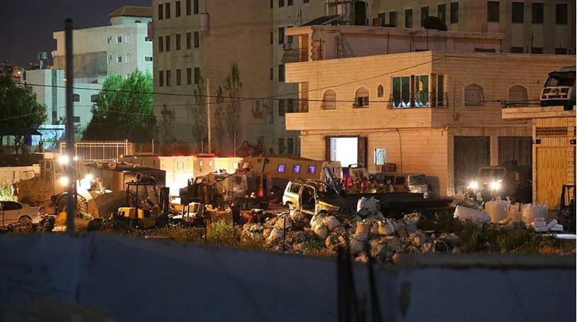 demolición de la casa de Arafat irfayiah