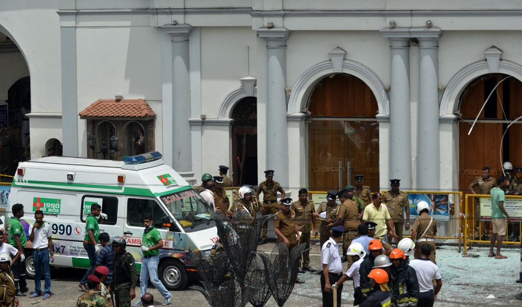 SRI LANKA-BOMBINGS-CHURCH-HOTEL