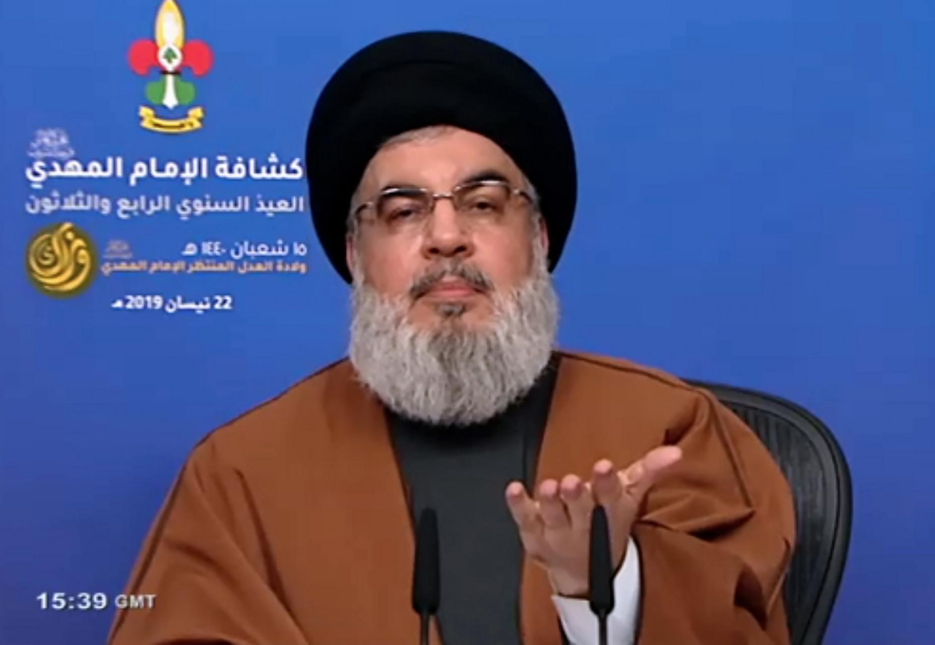 Hassan Nasrallah. AFP
