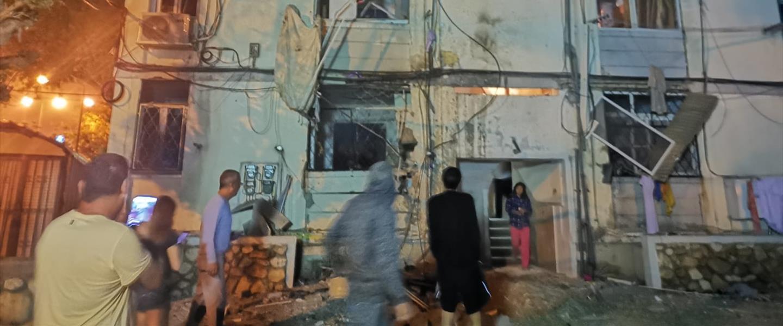 Impacto de cohete en Ashkelon