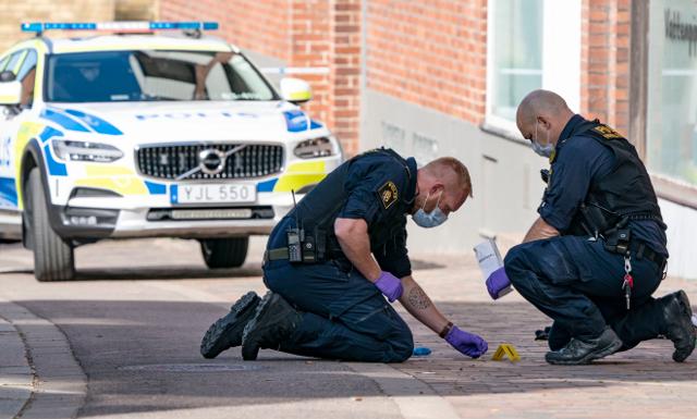 Policía científica sueca
