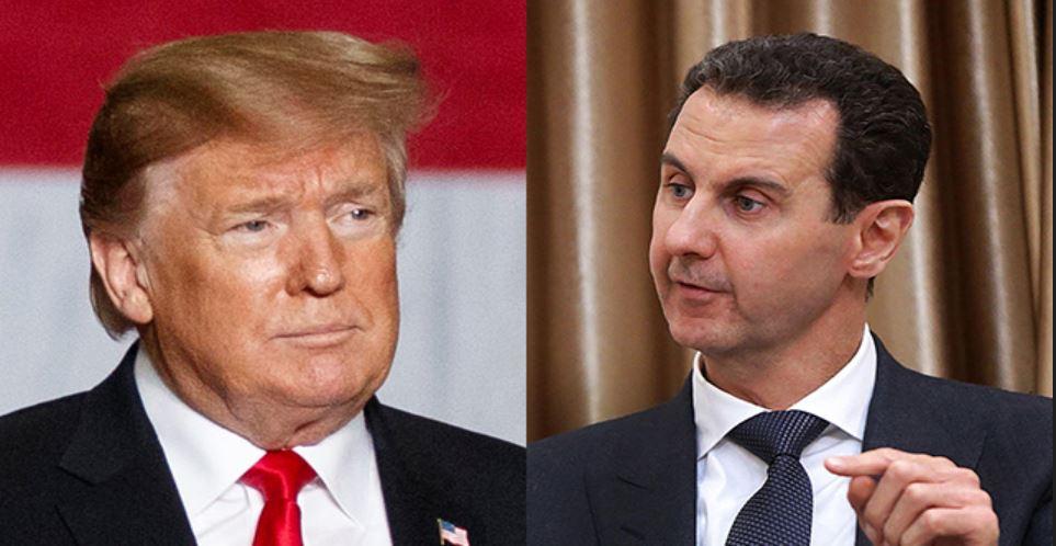 Trump Assad