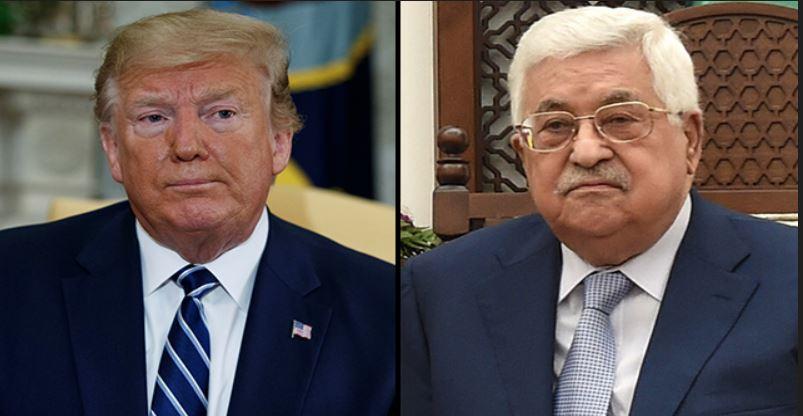 Trump Abu Mazen