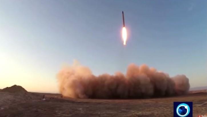 Iran ballistic missiles test