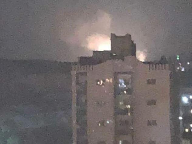 ataque aéreo en Damasco