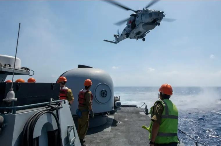 Barco helicóptero