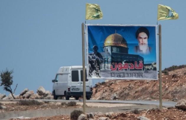 Hezbollah en la frontera con Israel