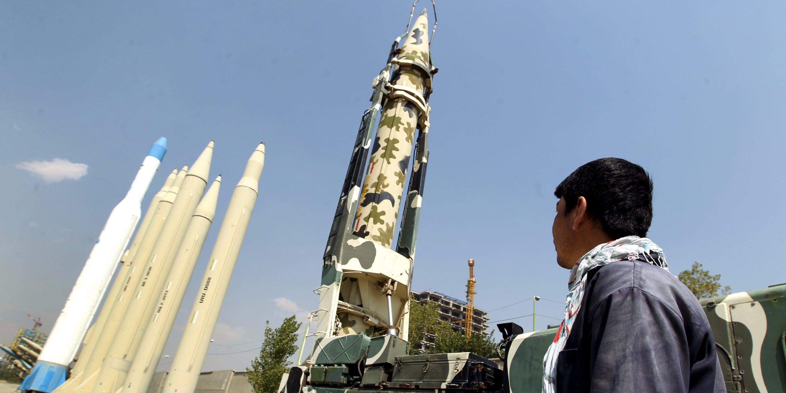 Irán misiles balísticos 2
