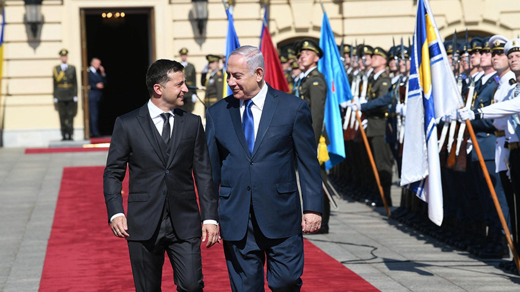 Netanyahu Zelensky