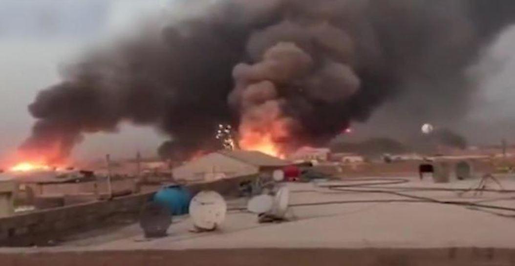 ataque aéreo en Irak 2
