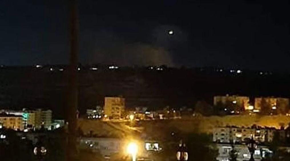 ataque israelí en Siria