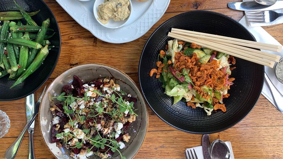comida israel ensaladas