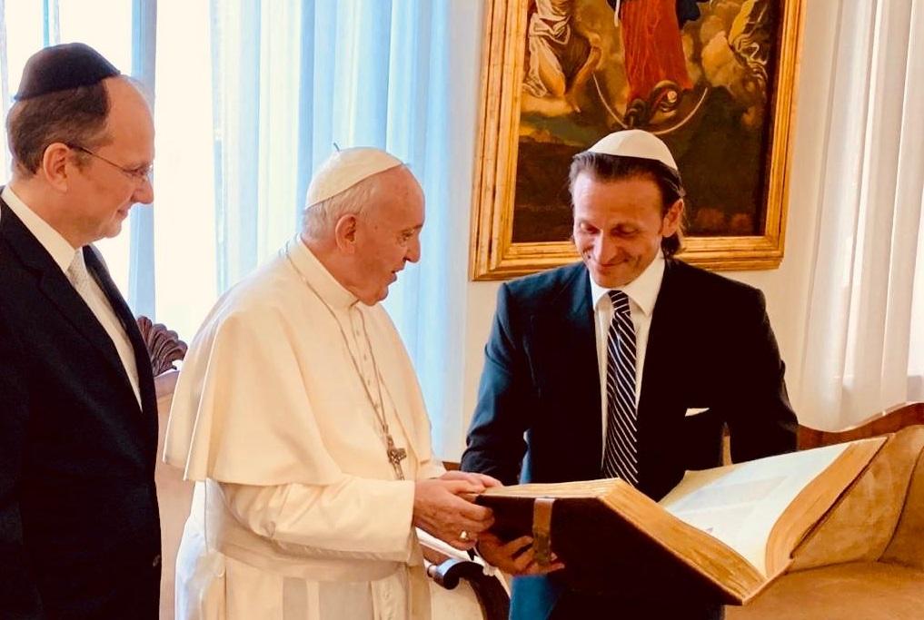 papa fundación hispanojudía