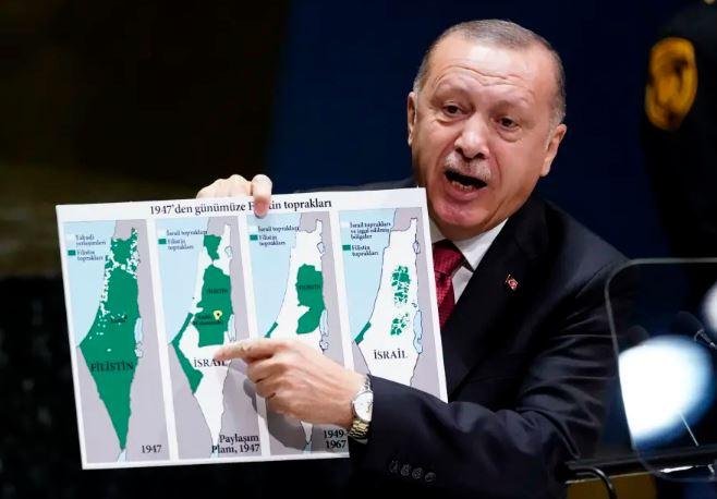 Erdogan mapa